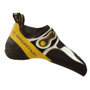 La Sportiva Solution - Scarpette da arrampicata - uomo - White/Yellow