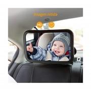 Espejo retrovisor para auto gran tamaño seguridad bebe