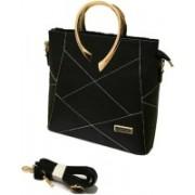 Bloom Fashions Bloom fashion stylish women's handbag (Black) Sling Bag(Black, 5 L)