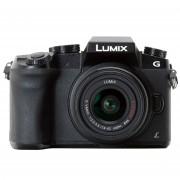 Panasonic Lumix DMC G7 Kit avec LUMIX G VARIO 14-42mm ASPH. MEGA O.I.S. Objectif - Noir (PAL)