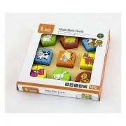Drvene puzzle 18 dijelova- farma 59585