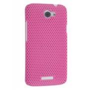 HTC One X / XL / X+ Slim Mesh Case - HTC Hard Case (Pink)