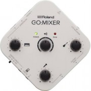 Roland GO:MIXER 10 canali Nero, Bianco