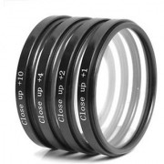 American Sia 55mm Macro Close up Lens Filter Kit +1 +2 +4 +10 For Nikon 18-55mm f/3.5-5.6G VR AF-P DX and 70-300mm f/4.5