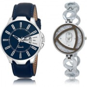 The Shopoholic Blue Silver Combo New Collection Blue And Silver Dial Analog Watch For Boys And Girls Casual Analog Watches For Men