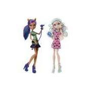 Monster High Dupla Sustos E Maquiagem Mattel
