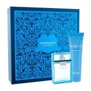 Versace Man Eau Fraiche confezione regalo Eau de Toilette 100 ml + 150 ml doccia gel uomo