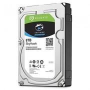 Seagate - Hard disk Skyhawk ST1000VX005, 1�TB, 8,9�cm (3,5�pollici), 64�MB cache, SATA 6�GB/s nero 8 TB