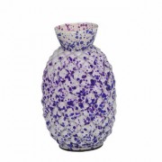 Somil Colorful Glass Flower Vase Hand Decorative With New & Stylish Shape-FP30