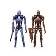 Set 2 Figurine Robocop Vs The Terminator Endoskeleton