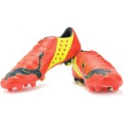 Puma Evopower 1 Fg Men Football Shoes(Orange)