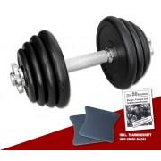 Megafitness Shop Kurzhantel-Set 15 kg - 13-fach verstellbar