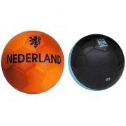 Nederland Orange + City Black Football (Size-5) Pack of 2 Footballs
