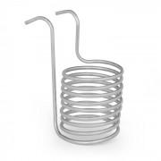 Klarstein Chiller 6, потопяем охладител, охлаждаща намотка, Ø 20 cm, 9 намотки, 304 неръждаема стомана (BRD3-Chiller6)