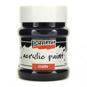 Pentart Farba akrylowa 230 ml - czarny - CZA