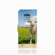 B2Ctelecom Huawei Mate 20 Pro Telefoonhoesje met Pasjes Schaap en Lammetje
