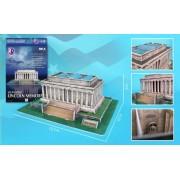 3 D Puzzles Cf104 H Lincoln Memorial 42 Pieces