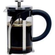 café JEI French Press Coffee and Tea Maker 600ml with 4 Level Filtration System, Stainless Steel, Heat Resistant Borosilicate Glass 5 Coffee Maker(stainless steel)
