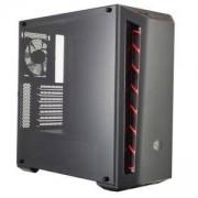 Компютърна кутия Cooler Master MasterBox MB510L, черен/червен, CM MASTERBOX MB510L RED TRIM