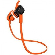 Jabees Beating Bluetooth V4.1 Wireless Sports Stereo Headphone with Mic - Orange