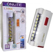Onlite Small Pocket Rechargeable High Power 3W+16SMD Torch with Dual Solar and Android Pin Charge