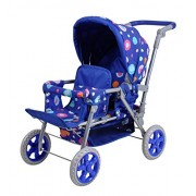 Knorrtoys Knorr Toys Knorr16612 Big Blue Splash Twin Doll Pram