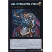 Yu Gi Oh! Sacred Noble Knight Of King Artorigus (Nkrt En038) Noble Knights Of The Round Table 1st Edition Platinum Rare