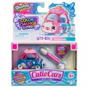 Masinuta Moose Toys Shopkins Cutie Cars S3 Color Change Puff Rusher
