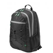 """HP Active Backpack Black/Mint Green Раница за Преносим Компютър 15.6"""""""