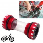 Bicicleta Bb109 Pedalier Shimano Encaja 68-73mm Para Bicicleta De Montaña (rojo)
