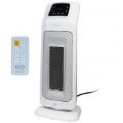 Aeroterma cu rezistenta ceramica ARGO MOOD 2000 W, IP21, Display, LED, Telecomanda, Termostat digital, Timer programabil, Oscilatie automata la 90 de grade, 2 trepte de putere