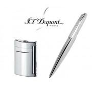 Cadou Set Silver S.T. Dupont