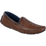 Lucky Brown Driving Driving Shoes For Men(Brown)
