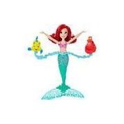 Boneca Princesas Disney Ariel Girar e Nadar - Hasbro