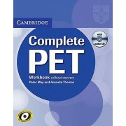 Complete PET Workbook without Answers with Audio CD by Peter May & ...