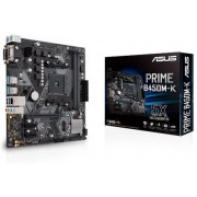 Asus PRIME B450M-K - Moederbord - Micro ATX - Socket AM4 - B450 - USB 3.1- Gigabit LAN - HD Audio