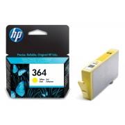 Hp ORIGINALE HP 364 GIALLA CB320EE PER HP 5380,6380,5460,8550,5324 CB320 364Y 300 PAGINE