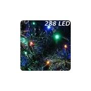 LED Lichterkette mit 3mm kleinen bunten LED 288 LED