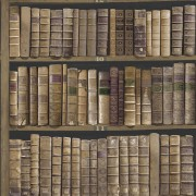Tapet Vintage Carti Biblioteca Mahon Oxford II