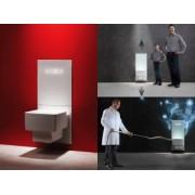 Cadru WC complet TECE, gama TECElux, actionare electronica