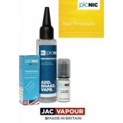 Pachet Lichid DiY Tigara Electronica Premium Jac Vapour Real Pineapple 60ml, Nicotina 3mg/ml, 80%VG 20%PG, Fabricat in UK