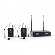 Duett Pro V2 Conjunto de Microfones Sem Fios Wireless 2 canais UHF 50 m
