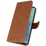 Bruin Bookstyle Wallet Cases Hoesje voor Huawei Mate 20 Pro