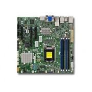 SUPERMICRO X11SSZ-TLN4F - Moderkort - micro ATX - LGA1151 Socket