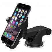 Univerzális autós telefon tartó szélvédőre tapadókorongos kihúzható karral 55-85mm - Long Neck One-Touch