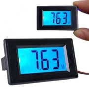 LCD Voltmeter 3.5V-20V s modrým podsvietením