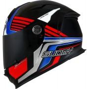Suomy SR-Sport Attraction Přilba XL Černá červená Modrá