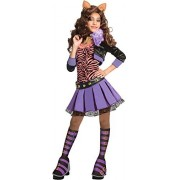 Deluxe Clawdeen Wolf Costume - Medium
