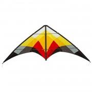 HQ tweelijnsvlieger Salsa III Blaze 188 cm rood/geel