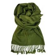 Madrid Lux jednobarevný šál zelená